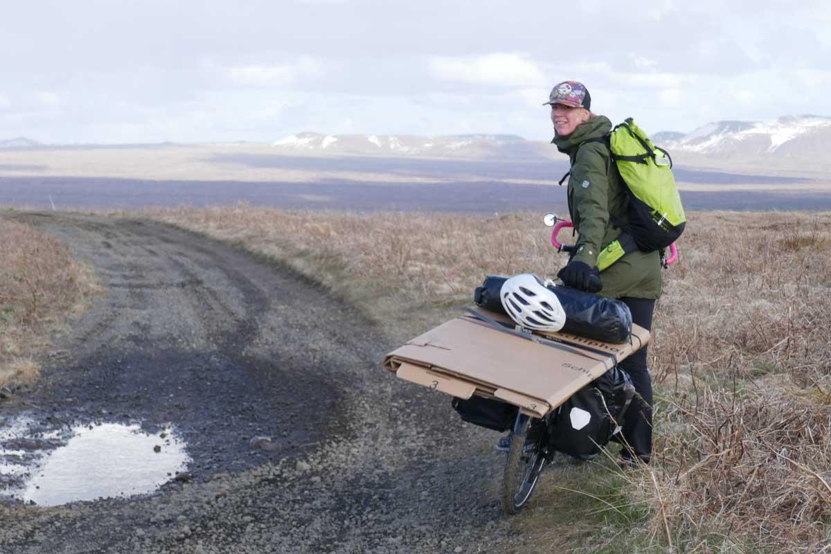 Boxes on bikes